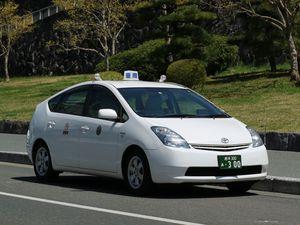 プリウスのタクシー車両