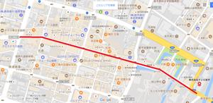 秋祭り通行止め地図2