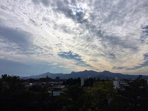 盛岡城跡公園天守閣からの景色