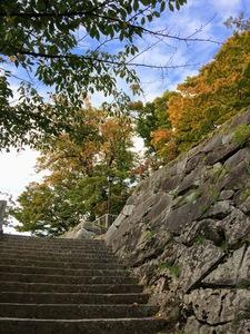 盛岡城跡公園の階段