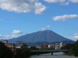 夕顔瀬橋からの岩手山